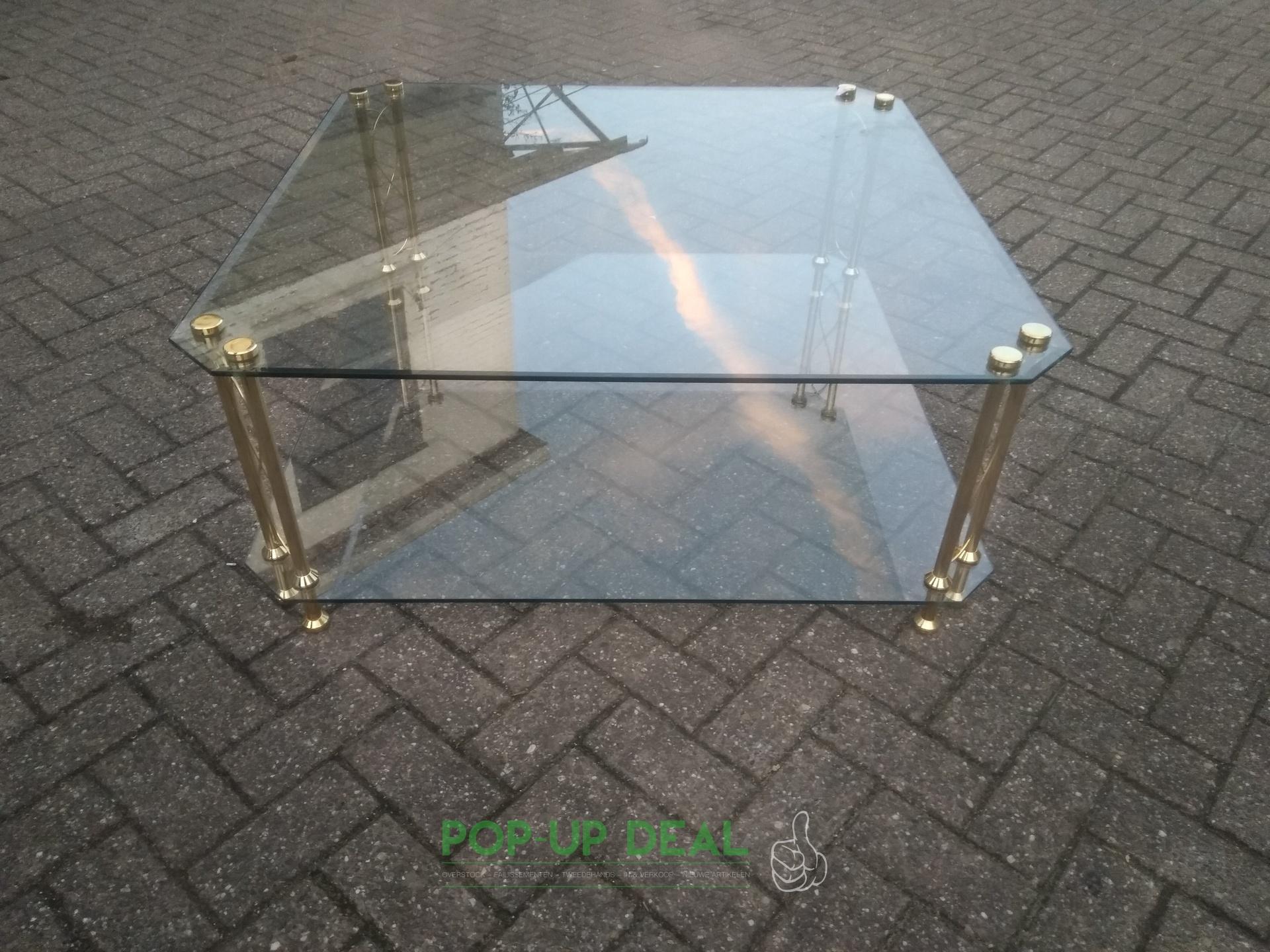 Grote Glazen Salon Tafel.Grote Salon Tafel